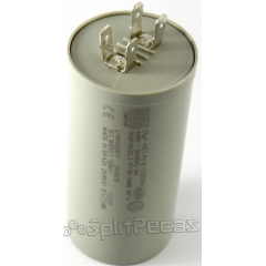 Capacitor de Partida  do Compressor 25 MF +5%  440V.AC 50/60 Hz SH ( 2 Pólos )