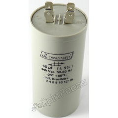 Capacitor de Partida  do Compressor 45 MF +5%  400V.AC 50/60 Hz SH ( 2 Pólos )